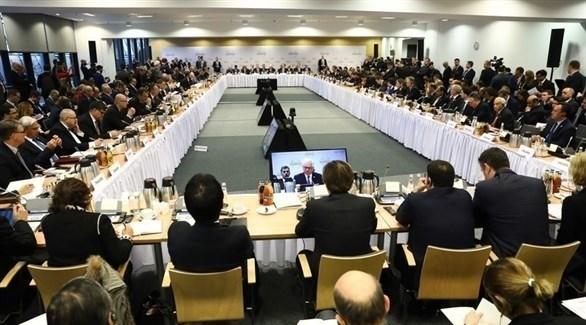 جانب من مؤتمر وارسو حول الشرق الوسط في بولندا (EPA)