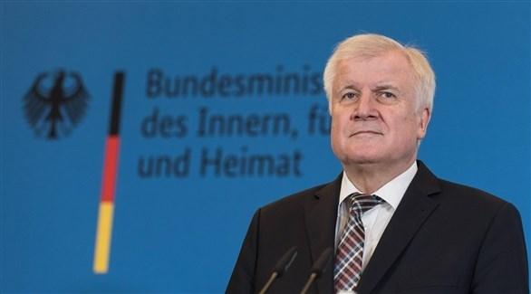 وزير الداخلية الألماني هورست زيهوفر (أرشيف)