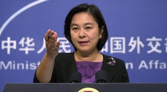 المتحدثة باسم الخارجية الصينية، هوا تشون ينغ (أرشيف)