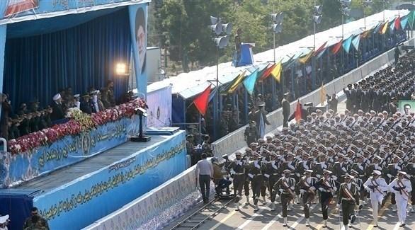 استعراض عسكري في طهران (أرشيف)