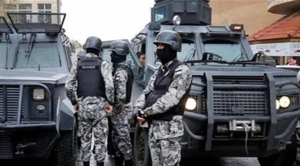عناصر من قوات الأمن الأردنية (أرشيف)