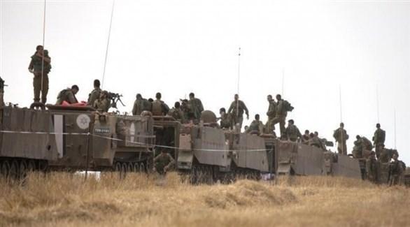 تعزيزات عسكرية إسرائيلية قرب قطاع غزة (أرشيف)