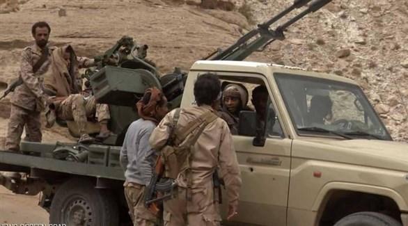 مقاتلون من الجيش الوطني اليمني (أرشيف)