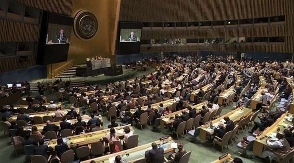 اجتماع للجمعية العامة للأمم المتحدة (أرشيف)