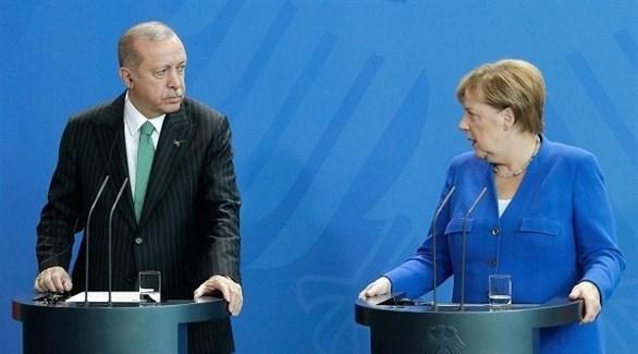 ميركل وأردوغان (أرشيف)