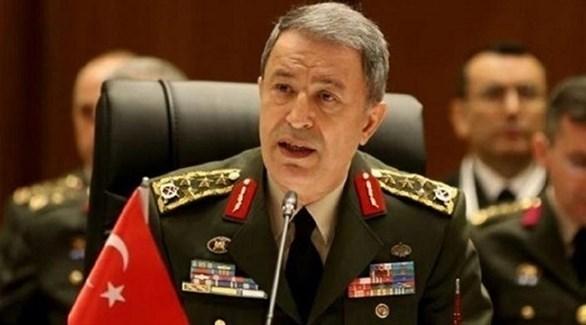 وزير الدفاع التركي خلوصي أكار (أرشيف)