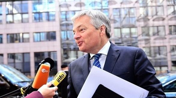 وزير الخارجية والدفاع البلجيكي ديديه رينديرز (أرشيف)