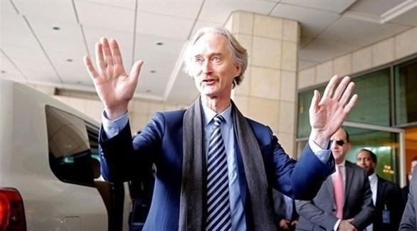 مبعوث الأمم المتحدة إلى سوريا، جير بيدرسون (أرشيف)