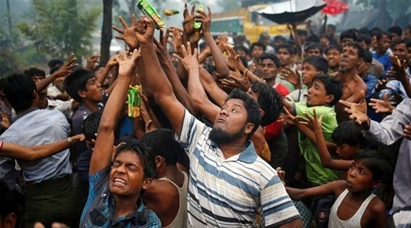 لاجئين من الروهينغا في بنغلاديش (أرشيف)