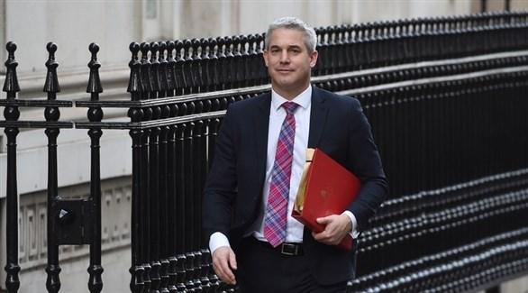 الوزير البريطاني المكلف بريكست ستيفان باركلي (أرشيف)