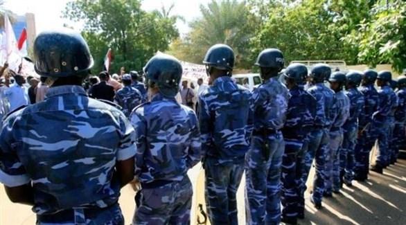عناصر من الشرطة السودانية (أرشيف)