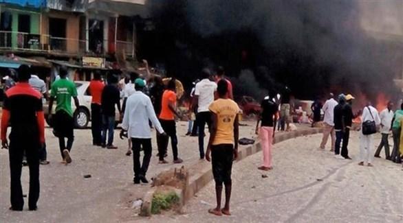 تفجير انتحاري لحركة بوكوحرام في نيجيريا (أرشيف)