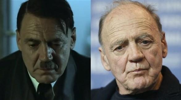 الممثل برونو غانز وكما بدا في شخصية هتلر