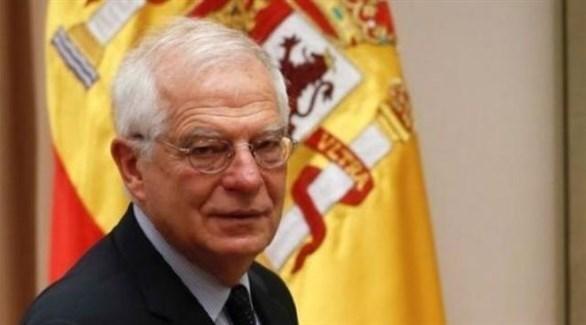 وزير الخارجية الإسباني غوسيب بوريل (أرشيف)