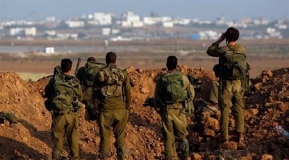 قوات إسرائيلية قرب حدود قطاع غزة (أرشيف)