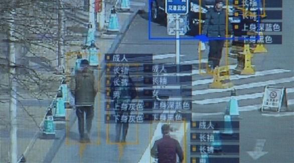 لقطة عن أحد أجهزة المراقبة في الصين (أرشيف)