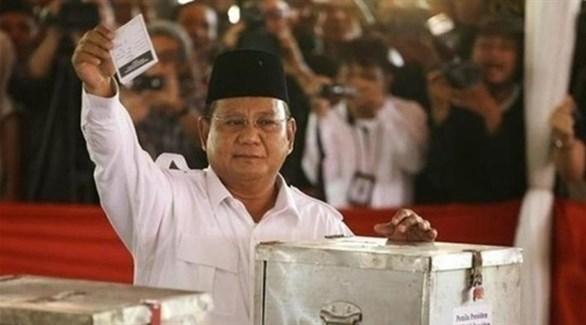 مرشح الرئاسة الإندونيسي برابو سوبيانتو(أرشيف)