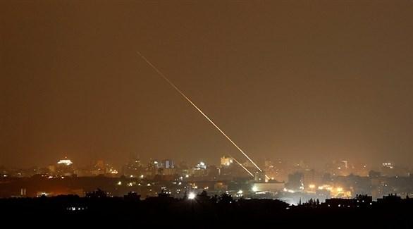 إطلاق صاروخ من غزة على إسرائيل (أرشيف)
