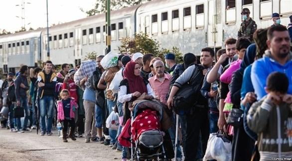 لاجئون في أوروبا (أرشيف)
