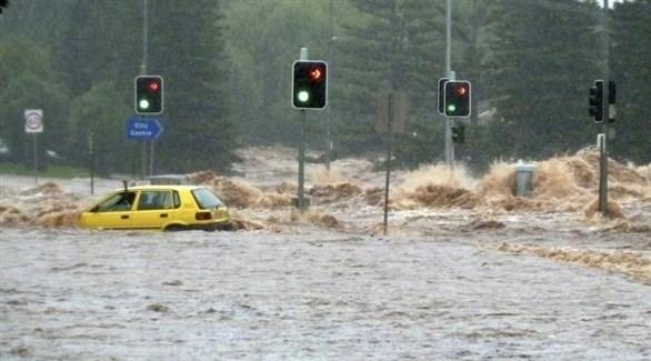 سيارة أسيرة المياه في كوينزلاند الأسترالية (أرشيف)
