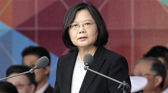 رئيسة تايوان تساي انج وين (أرشيف)