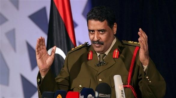 المتحدث باسم الجيش الليبي العميد أحمد المسماري (أرشيف)