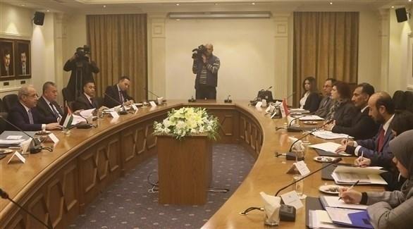 لقاء سابق بين مسؤولين عراقيين وأردنيين (أرشيف)