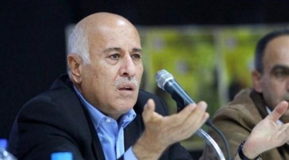 أمين سر اللجنة المركزية لحركة فتح الفلسطينية جبريل الرجوب (أرشيف)