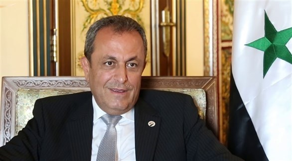 القائم بأعمال السفارة السورية في الأردن أيمن علوش (أرشيف)