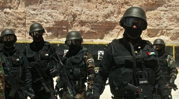 قوة أمنية أردنية (أرشيف)