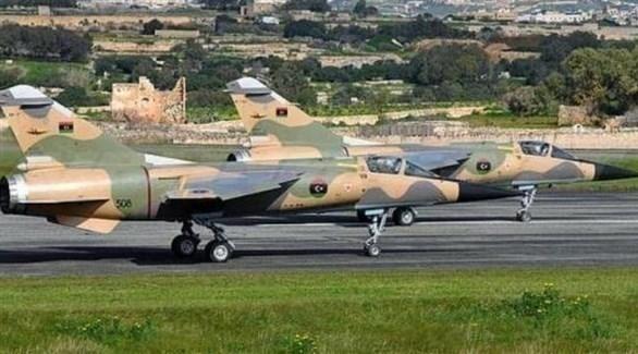 طائرات حربية تابعة للجيش الليبي (أرشيف)