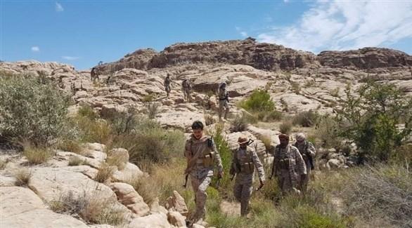 قوات من الجيش اليمني في صعدة (سبأ)
