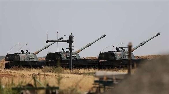 مدفعيات تركية في سوريا (أرشيف)