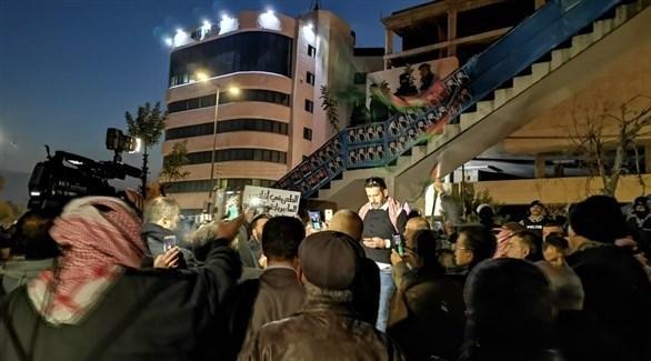 مظاهرات في الأردن ضد إسرائيل (من المصدر)