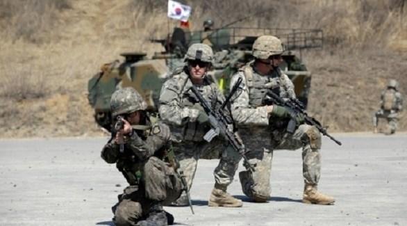 تدريب للقوات الأمريكية والكورية الجنوبية (أرشيف)