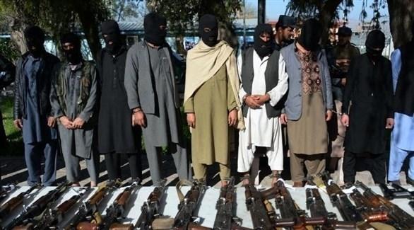 عناصر من حركة طالبان الأفغانية (أرشيف)