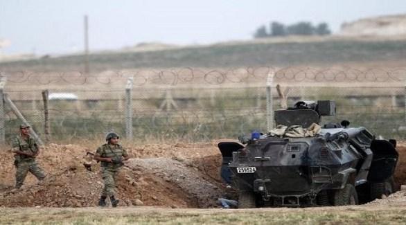 عناصر من حرس الحدود التركي قرب سوريا (أرشيف)