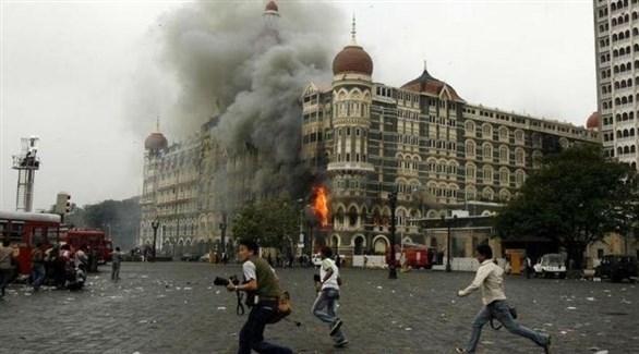 صحفيون في موقع اعتداءات مومباي (أرشيف)