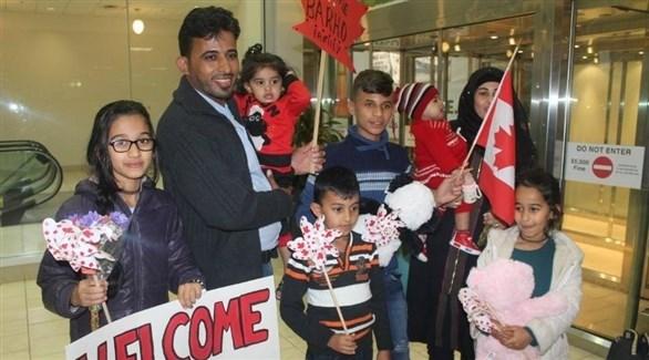 العائلةالسورية اللاجئة التي فقدت أطفالها بحريق في كندا (أرشيف)