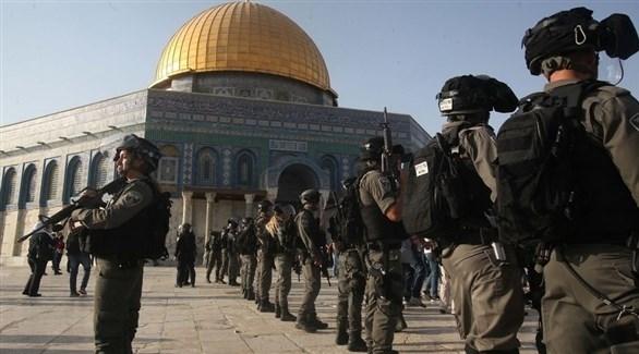 عناصر الاحتلال داخل مسجد الأقصى (أرشيف)