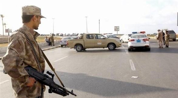الجيش الليبي يقيم نقاط تفتيش على مداخل مرزوق الليبية (المتوسط)