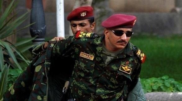 نجل شقيق الرئيس اليمني الراحل علي صالح وقائد أولوية المقاومة اليمنية العميد طارق صالح (أرشيف)