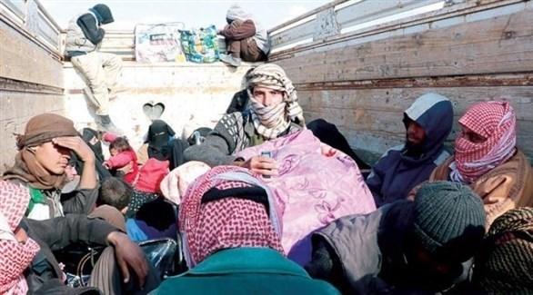 عوائل سورية تغادر الجيب الأخير الذي يسيطر عليه داعش (أرشيف)