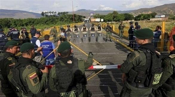 قوات فنزويلية تغلق الحدود مع كولومبيا (أرشيف)