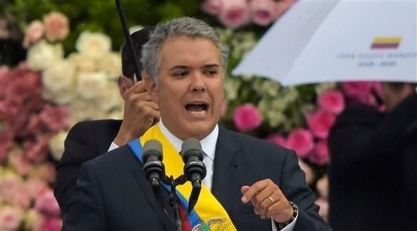 الرئيس الكولومبي إيفان دوكو (أرشيف)