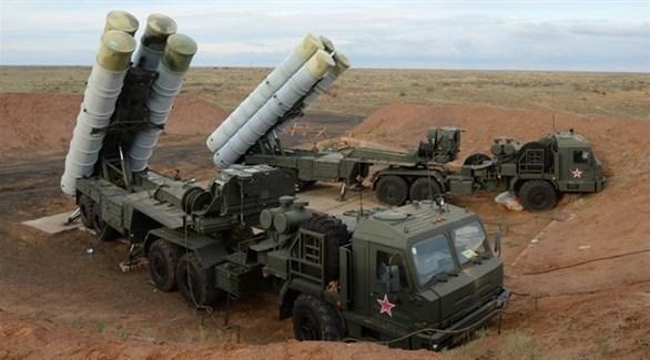 منظومة الصواريخ الروسية أس 400 (أرشيف)