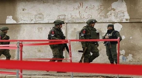 عناصر الشرطة العسكرية الروسية في سوريا (روسيا اليوم)