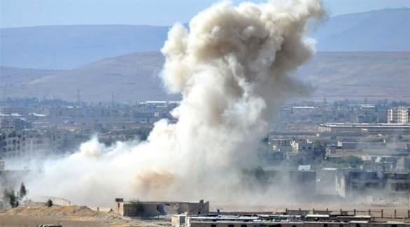 انفجار في حماة (أرشيف)