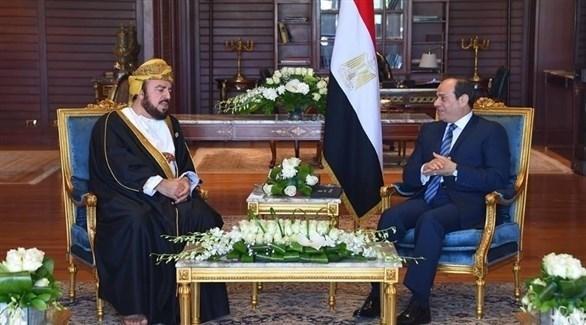 خلال اللقاء (الرئاسة المصرية)