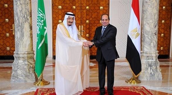 الملك سلمان والرئيس السيسي (أرشيف)